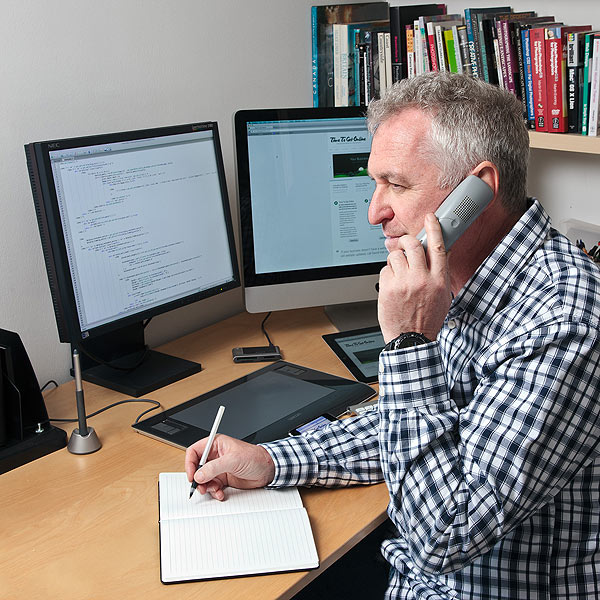 David Hall rund Time to Get Online - an indpendent web design agency near Malmesbury in Wiltshire